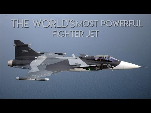 Meet the Saab JAS-39E Gripen: The World's Most Powerful Fighter Jet (You Never Heard Of)