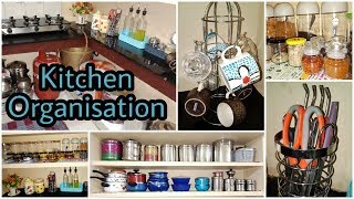 Kitchen Organisation Part1 / Non Modular Kitchen / Tamil Crunch