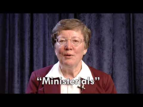 Essentials, Ministerials, and Incidentals