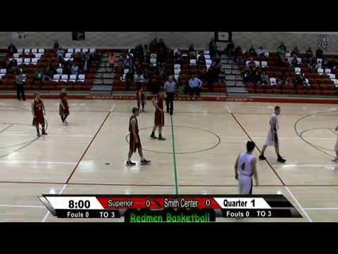 Smith Center Redmen Vs. Superior NE Lady Wildcats  Basketball