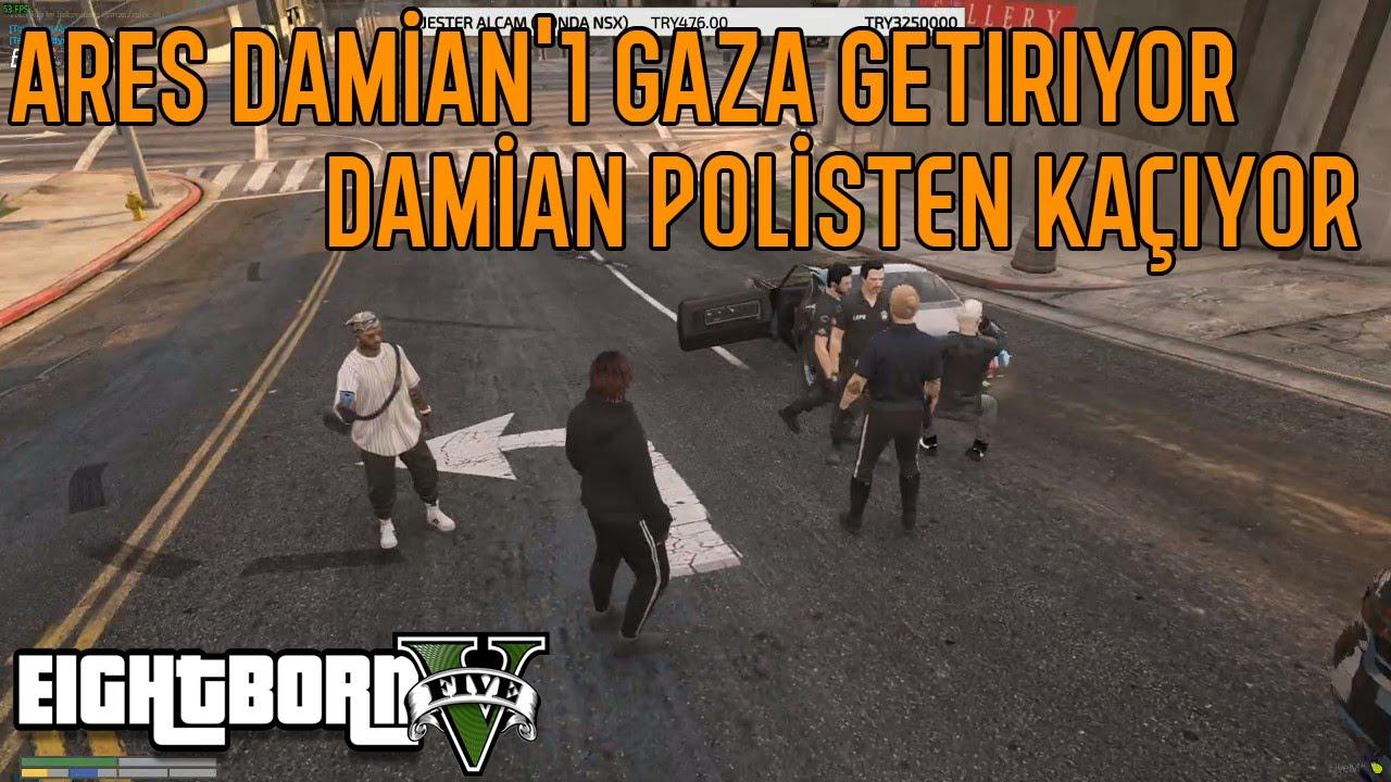 Ares Damian'ı Gaza Getiriyor   Damian Polisten Kaçıyor!!
