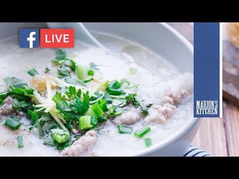 Thai pork & rice soup - Marion's Kitchen