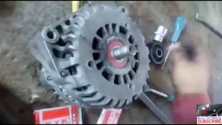 0 Alternator Front Bearing Change Bosch And Valeo Tutorial