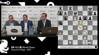 Mamedyarov on his victory vs Vachier-Lagrave in the Game 1 of the Final of Riga Grand Prix / 2019 thumbnail