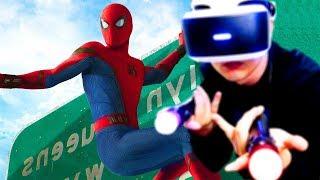 Я ТЕПЕРЬ ЧЕЛОВЕК ПАУК! - Spider Man VR (Playstation VR)