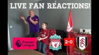 Liverpool vs Fulham November 11th 2018 LIVE Fan Reactions!