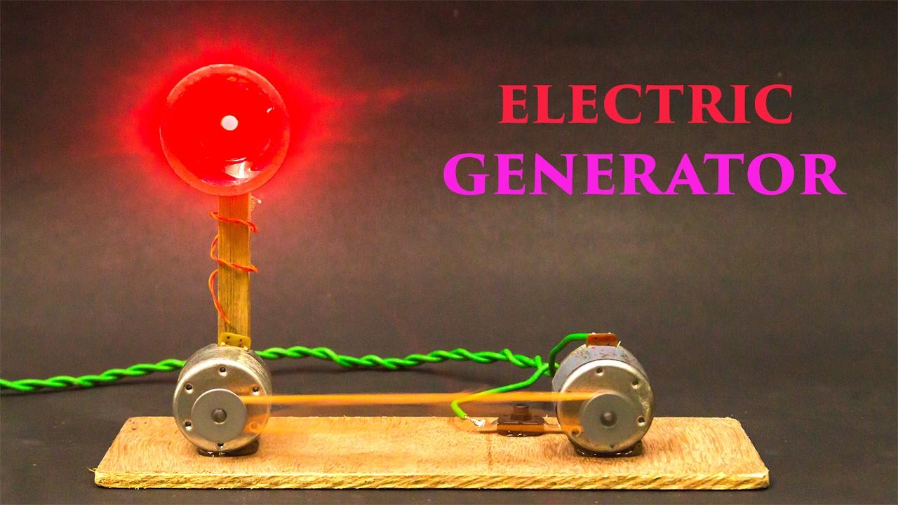Electric Generator Using Dc Motor