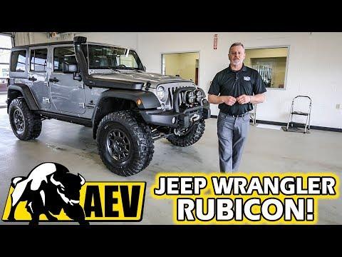 Jeep Wrangler Rubicon AEV - American Expedition Vehicles Exterior & Interior Walkaround