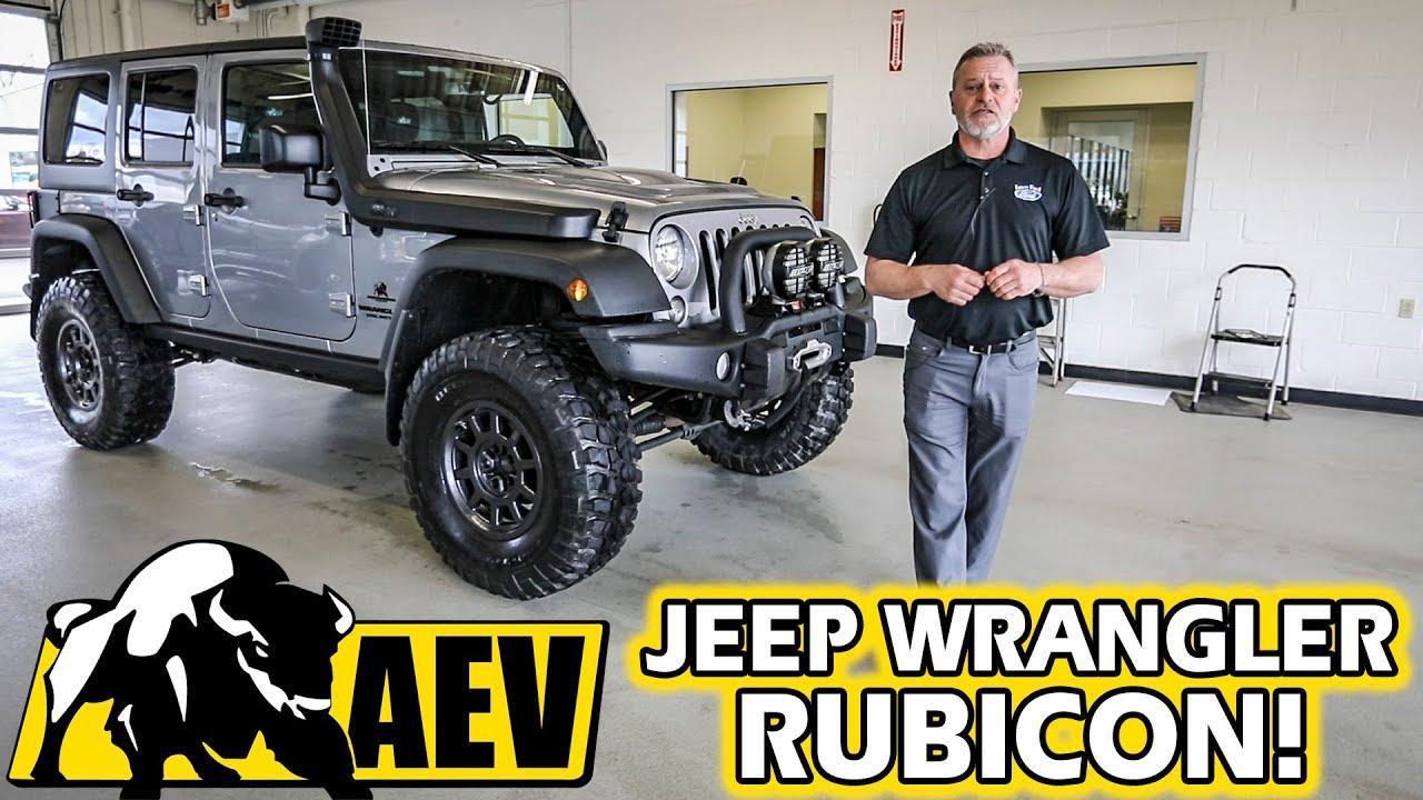 American Expedition Vehicles >> Jeep Wrangler Rubicon Aev American Expedition Vehicles Exterior Interior Walkaround
