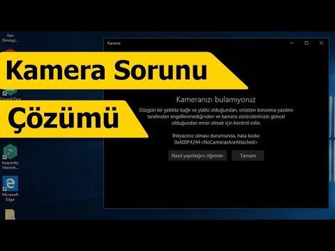 Bilgisayar Kamerasını Etkinleştirme - Kamera Bulunamadı Hatası Çözümü