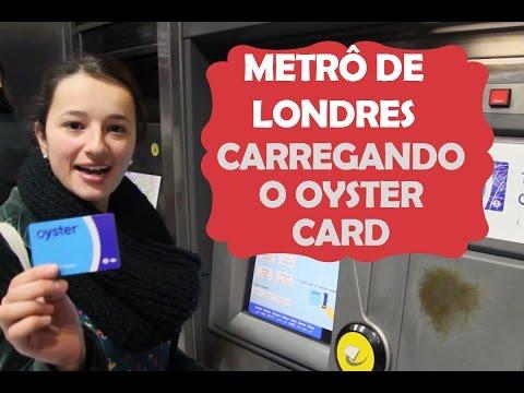 Metrô de Londres: como colocar créditos no Oyster Card