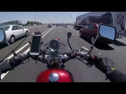 Honda Rebel from East Bay to Sacramento