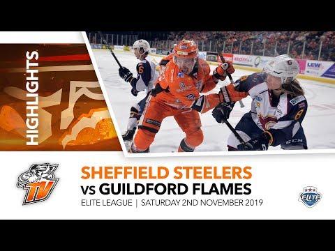 Sheffield Steelers V Guildford Flames - EIHL - 2nd November 2019