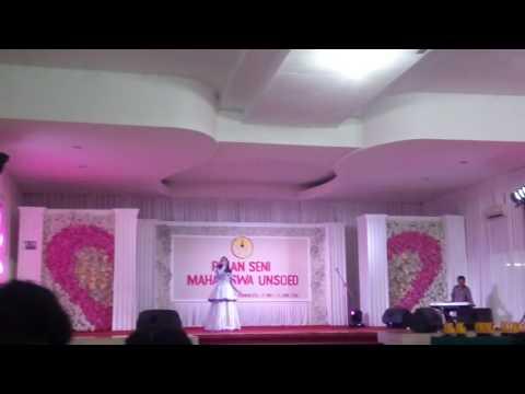 Pekan Seni Mahasiswa Unsoed (Final Pop Putri) Simponi Hitam-Sherina