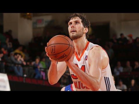 Jordan Bachynski 2015-16 NBA D-League Season Highlights