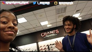 A DAY IN MY LIFE (WORKING AT CHAMPS SPORTS)