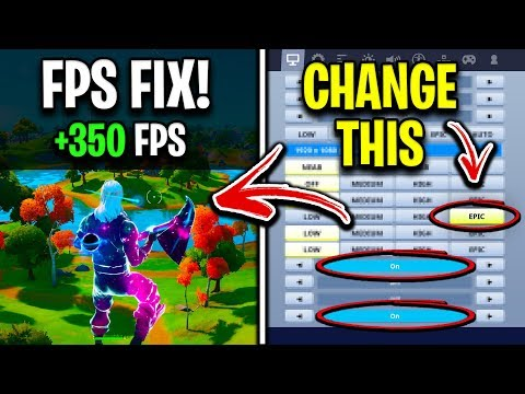 Changing This ONE Setting Will Fix FPS Stutters/Drops Issue In Fortnite Chapter 2! (Not Clickbait)