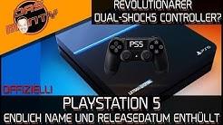 PLAYSTATION 5 - Endlich Name und Releasedatum enthüllt | Revolutionärer Dual-Shock5? | PS5 DasMonty