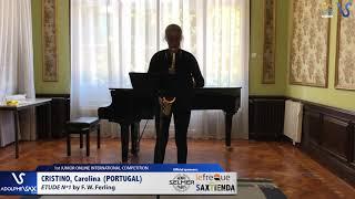Carolina Cristino – Etude Ferling 1