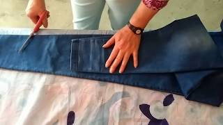 La forma correcta de tomar el largo de el pantalón