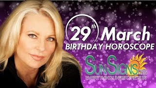 Birthday March 29th Horoscope Personality Zodiac Sign Aries Astrology