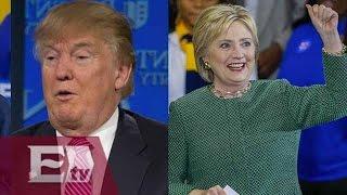 Encuesta revela que Clinton podría vencer a Trump en elecciones presidenciales / Kimberly Armengol