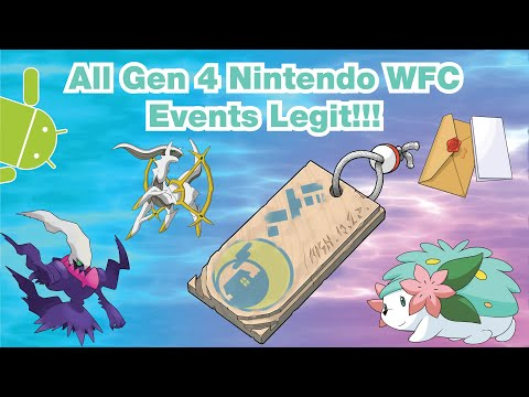 How To Get EVERY WI-FI EVENT In Generation 4 LEGIT!!! (DPPT, HGSS)