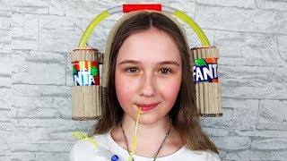 How to make a Fanta Drinking Hat for kids thumbnail