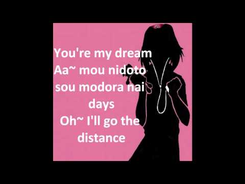 Distance- Long short Party lyrics (Naruto opening)