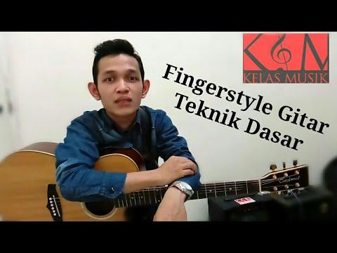 Belajar Gitar Fingerstyle Dasar Dijamin Cepat bisa! Kelas Musik