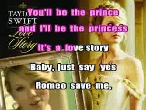 Taylor Swift - Love Story (Karaoke)