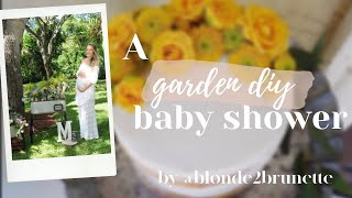 Garden Baby Shower Teaser Trailer | BLONDE2BRUNETTE