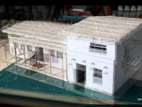Como hacer la casa hospital de la pelicula zulu para for Como hacer piscicultura en casa