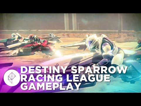 See both of Destiny's Sparrow Racing League maps in action