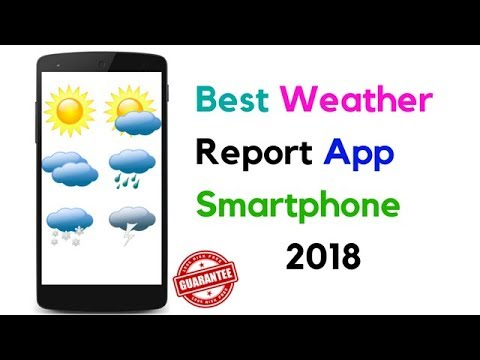 Yahoo Weather Best Weather Report App Smart Phone 2018 ! (इन हिंदी )