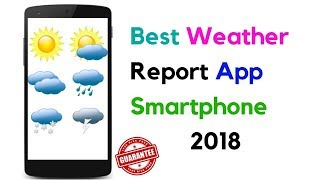 Yahoo weather Best Weather Report App smart phone 2018 ! (इन हिंदी ) screenshot 5