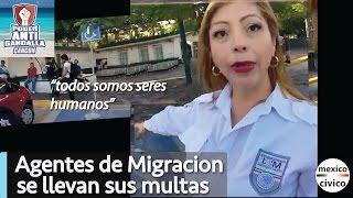 Arne aus den Ruthen | Agentes de Migracion se llevan sus multas #PoderAntiGandalla