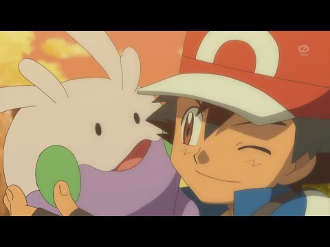 Pokemon X And Y Ash Catches Goomy