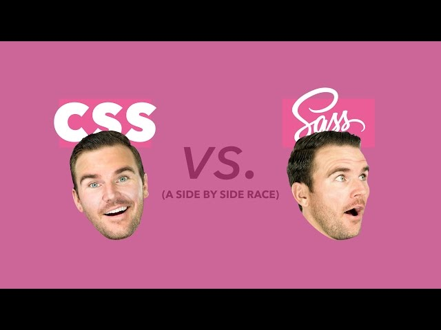 Sass vs. CSS: Which is Faster!? Let's race them and see.