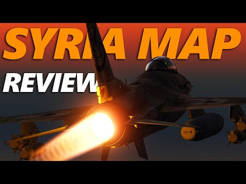 DCS: Syria Map Review And First Impression | Digital Combat Simulator
