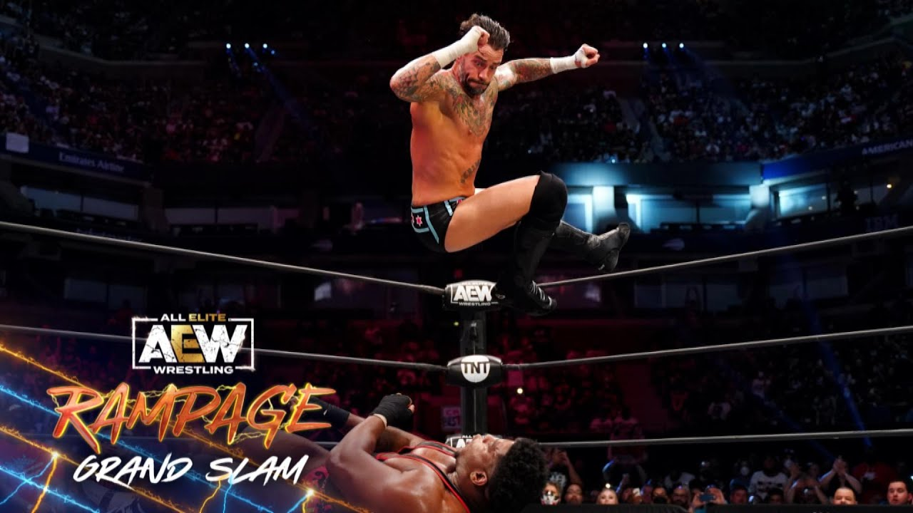 Download Watch the Finish of CM Punk's First Televised Match in 7 Years | AEW Rampage Grand Slam, 9/24/21