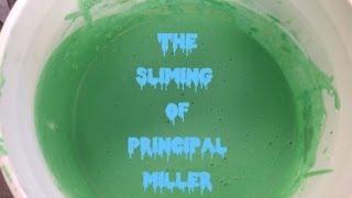 Mrs. Miller gets slimed!