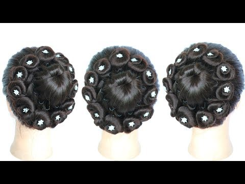 new beautiful juda hairstyle for wedding || bridal hairstyle || new hairstyle || wedding hairstyles