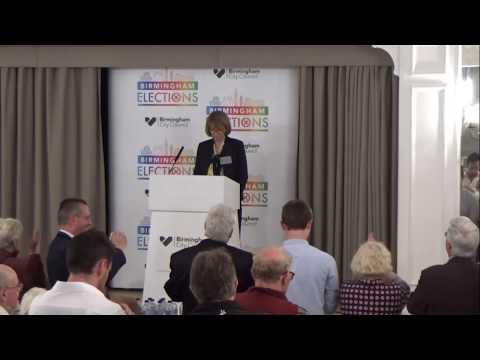 Birmingham Edgbaston - General Election Declaration