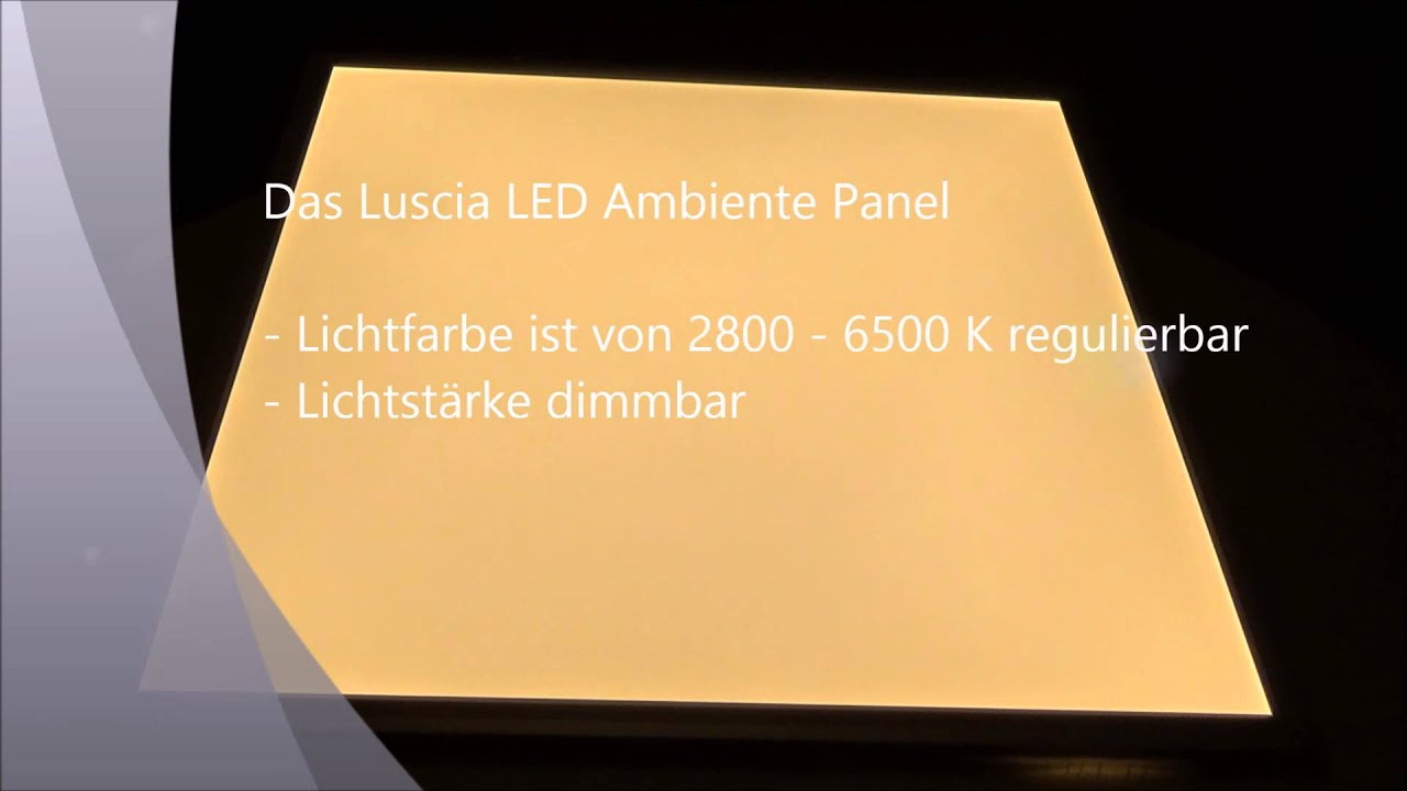 maxresdefault Wunderbar Led Panel Rgb Dimmbar Dekorationen