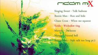 Darkness Riddim Mix [October 2011] [Claims Records - Gutty Bling Production]