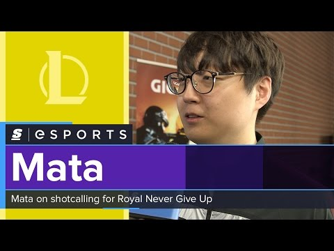 Mata on RNG's shot calling: 'We use Chinese and English, but we swear at each other in Korean'