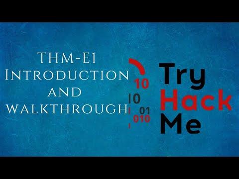 TryHackMe - E1 Introduction | Tamil
