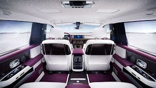 Rolls Royce Phantom 2018 INTERIOR смотреть
