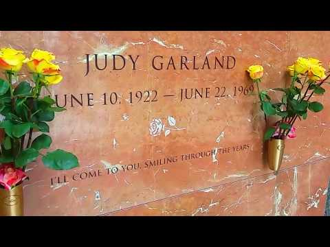 Judy Garland's new Los Angeles resting place Hollywood Forever Cemetery